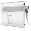 Kensington SecureBack Security Case w/Stand and Lock for iPad 2, White