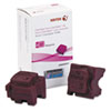 Xerox 108R00991 Ink Sticks, 4200 Page-Yield, Magenta, 2/Box
