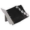 Durable 595010 Catalog Display Rack, 6 1-inch Rings, Gray DBL595010 DBL 595010