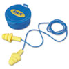 E·A·R UltraFit Multi-Use Earplugs, Corded, 25NRR, Yellow/Blue
