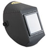"JACKSON SAFETY HUNTSMAN Fiber Shell Welding Helmet, 4 1/4"" x 5 1/4"", Black"