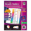 Avery Extra-Wide Ready Index Dividers, 10-Tab, 9 1/2 x 11, Assorted, 10/Set