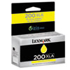 Lexmark 14L0200 High-Yield 200XLA Ink, 1600 Page-Yield, Yellow