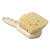 "Tampico Bristle Utility Brush, Plastic, 8 1/2"", Tan Handle"