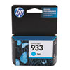 HP 933, (CN058AN) Cyan Original Ink Cartridge