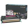 Lexmark X748H1MG High-Yield Toner, 10000 Page-Yield, Magenta
