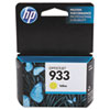 CN060AN140 (HP 933) Ink Cartridge, 330 Page Yield, Yellow