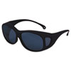 JACKSON SAFETY V50 OTG Safety Eyewear, Black Frame, Clear Anti-Fog Lens