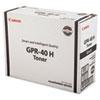 Canon 3482B005AA (GPR-40) Toner, 12,500 Page-Yield, Black