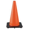 JACKSON SAFETY DW Series Safety Cone, 10 3/4w x 18h, Orange/Black