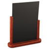 Securit Table Boards, 10 7/8 x 2 3/4 x 12 1/2, Mahogany Frame, 1/ea