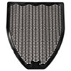Impact Disposable Urinal Floor Mat, Nonslip, Fresh Blast Scent, 17 1/2 x 20 3/8, Black