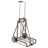 Safco 250lb Capacity Luggage Cart, 14 1/2 x 13 1/2 Platform, Steel