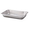 Handi-Foil of America Steam Table Aluminum Pan, Full-Size, 20 3/4 x 12 7/8 x 3 3/16