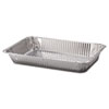 Handi-Foil of America Steam Table Aluminum Pan, Full-Size, 20 3/4 x 12 3/4 x 3 1/8