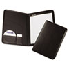 Professional Pad Holder, Storage Pockets/Card Slots, Writing Pad, Black