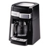 Programmable 12-cup Coffee Maker, Stainless Steel, Black/Silver