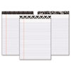 Fashion Legal Pads with Assorted Headtapes, 8-1/2 x 11, 50 Sheets/Pad, 6 Pads/Pk