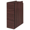 "Narrow Box/Box/File Pedestal for 10500/10700 Series Shells, 28"" High, Mahogany"