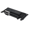 Samsung CLTP407B Toner, Black, 1,500 Page-Yield, 2/Box