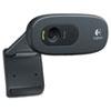 Logitech C270 HD Webcam, 720p, Black