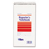 Reporter Notebook, Gregg Rule, 4 x 8, White, 12 70-Sheet Pads/Pack