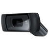 Logitech B910 HD Webcam, 720p, Black