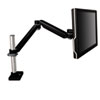 Easy-Adjust Monitor Arm, 4 1/2 x 19 1/2, Black Gray