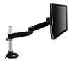 3M Dual-Swivel Monitor Arm, 4 1/2 x 25 1/2, Black/Gray