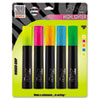 Zebra Zazzle Tank Highlighter, Chisel Tip, Assorted, 5/Pk
