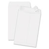Quality Park Redi-Strip Catalog Envelope, 6 1/2 x 9 1/2, White, 100/Box