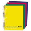 Multi-Subject Notebook, College/Medium Rule, Ltr, White, 240 Sheets