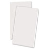 Recycled Scratch Pad Notebook, Unruled, 3 x 5, WE, 100-Sheet, Dozen
