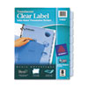 Avery 11453 Index Maker Clear Label Punched Dividers, Blue 8-Tab, Letter AVE11453 AVE 11453