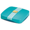 Post-it Pop-up Notes Pop-Up Notes Compact Dispenser, 3 x 3 Pad, Aqua