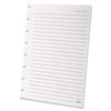 Versa Notebook Wide Ruled Refill Paper, 8-1/2 x 11, White, 40 Sheets/Pack