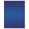 Professional Notebook, Blue Cover, Ruled, 11-3/4 x 8-3/8, Bright White, 192 Pgs