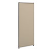 Verse Office Panel, 24w x 60h, Gray