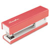 Half Strip Fashion Stapler, 20-Sheet Capacity, Pink