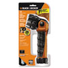 Rayovac Black & Decker LED Flashlight, Black Orange, 2 D