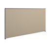 Verse Office Panel, 72w x 42h, Gray