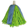 Quickie Lysol Cone Mop Supreme Refill, Green/Blue
