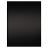 Professional Notebook, Black Cover, Ruled, 11-3/4 x 8-3/8, Bright White, 192 Pgs