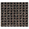 Crown Oxford Wiper Mat, 36 x 60, Black/Brown