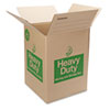 Duck Heavy Duty Box, 18l x 18w x 24h, Brown