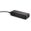 Wall Laptop Power Adapter, Universal Smart Tips, Black