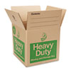 Duck Heavy-Duty Moving/Storage Boxes, 16l x 16w x 15h, Brown