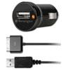 Kensington PowerBolt Car Charger, 1 Amp Port, Detachable 30-Pin Cable