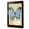 3M Natural View Screen Protection Film for iPad 2/3, Fingerprint Fading, Gloss