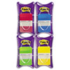 Post-it Tabs Durable File Tabs, Solid Color, 1